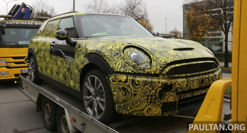 SPYSHOTS: Two new bodystyles for the MINI sighted Image #210179