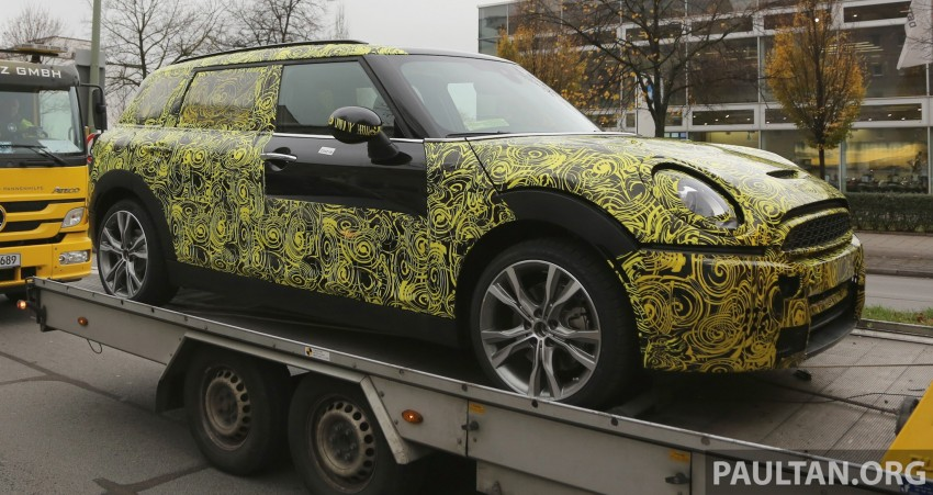SPYSHOTS: Two new bodystyles for the MINI sighted Image #210178