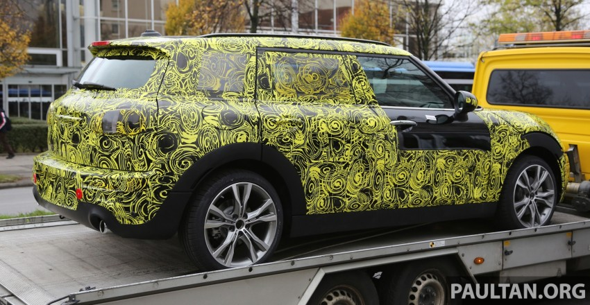 SPYSHOTS: Two new bodystyles for the MINI sighted Image #210177