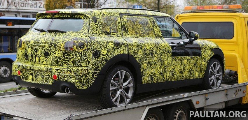 SPYSHOTS: Two new bodystyles for the MINI sighted Image #210176