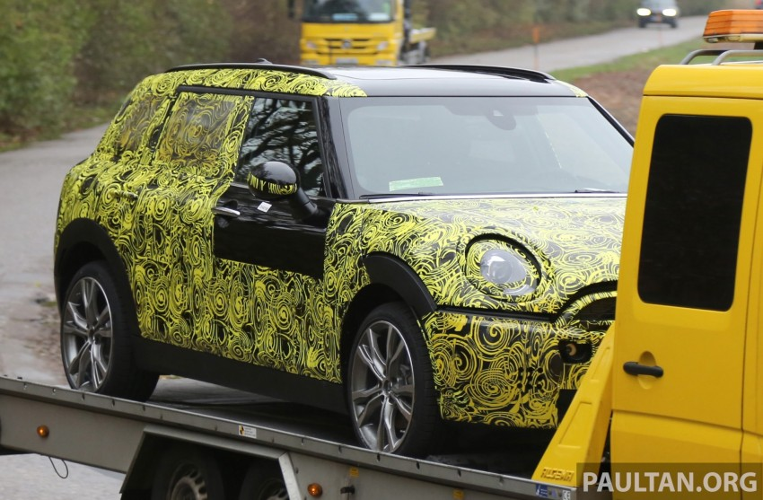 SPYSHOTS: Two new bodystyles for the MINI sighted Image #210173