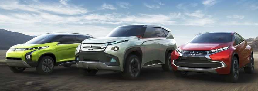 Mitsubishi Concept GC-PHEV, XR-PHEV and AR – previewing the new Pajero, ASX and Grandis Image #207635