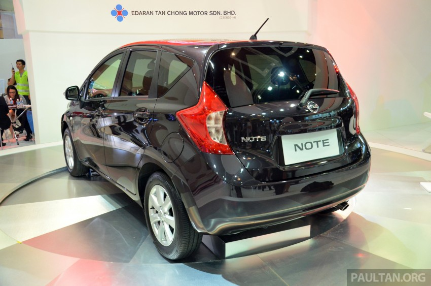 Nissan Note mini-MPV seen at KLIMS, coming soon? Image #210648