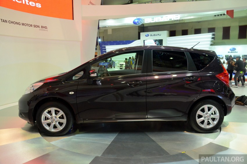 Nissan Note mini-MPV seen at KLIMS, coming soon? Image #210649