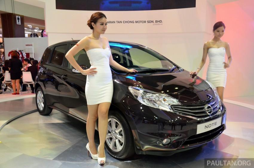 Nissan Note mini-MPV seen at KLIMS, coming soon? Image #210654