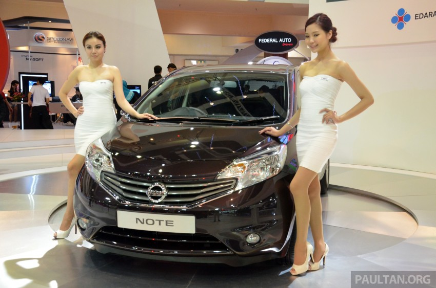 Nissan Note mini-MPV seen at KLIMS, coming soon? Image #210658