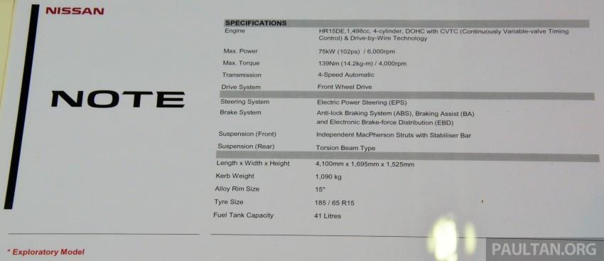 Nissan Note mini-MPV seen at KLIMS, coming soon? Image #210665