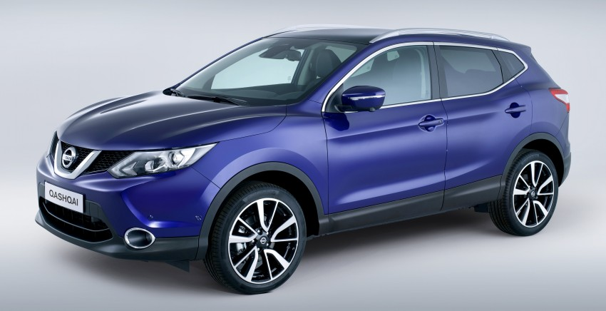 2014 Nissan Qashqai – second-gen officially unveiled Image #208812