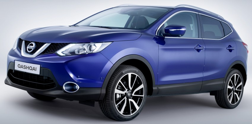 2014 Nissan Qashqai – second-gen officially unveiled Image #208813