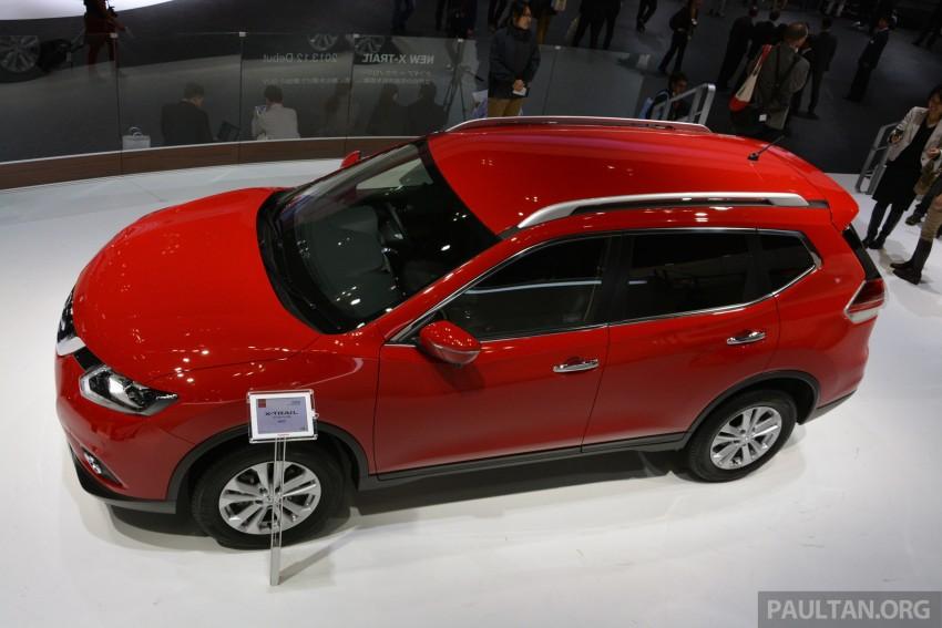 Tokyo 2013: Nissan X-Trail, Japan-spec third-gen Image #213977