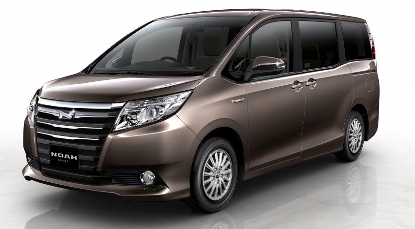 2014 Toyota Noah and Voxy previewed at Tokyo 2013 Image #213030