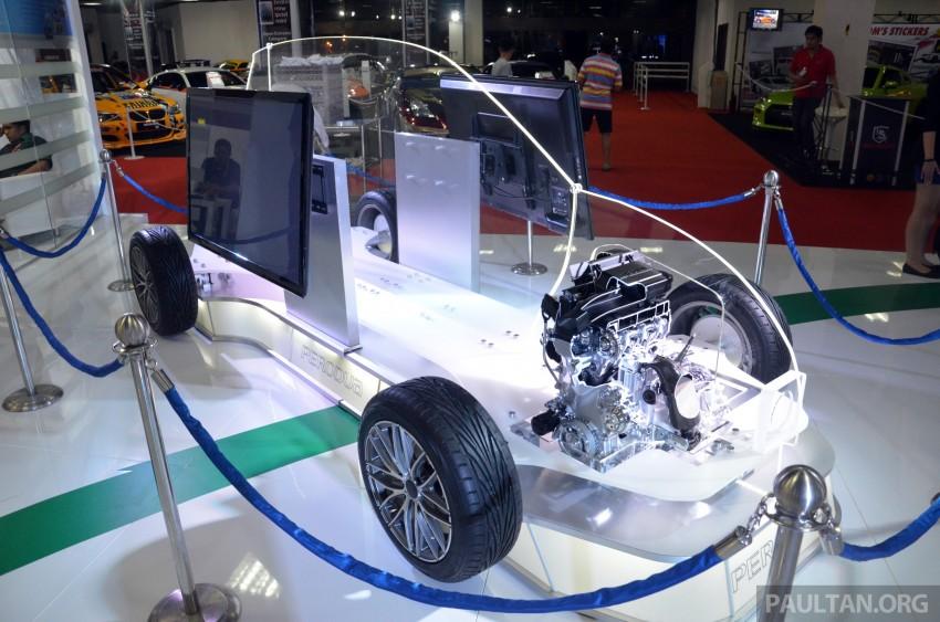 Perodua 1KR-DE 1.0 litre engine shown at KLIMS13 Image #210044