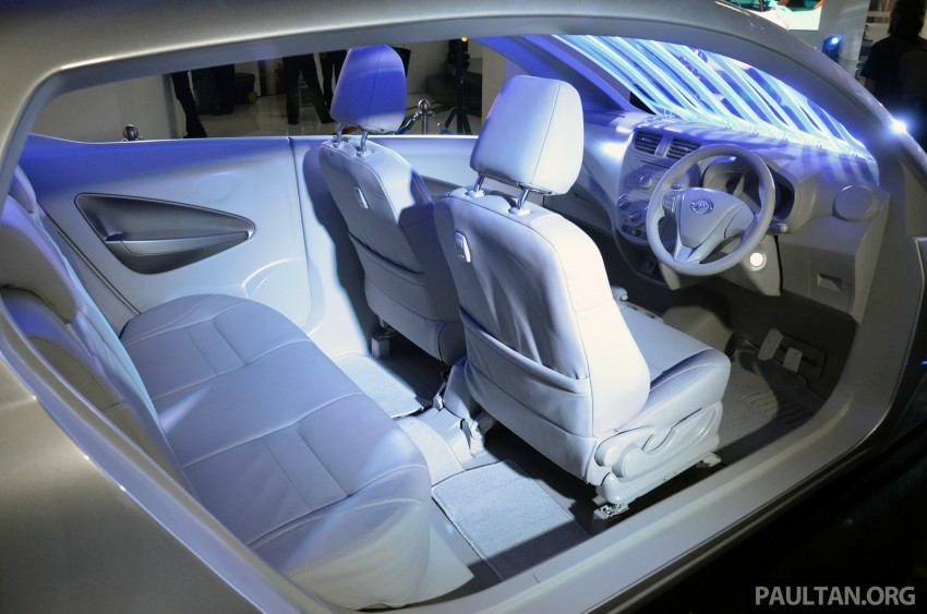 Perodua GMA Space previews new Viva interior Image #209848