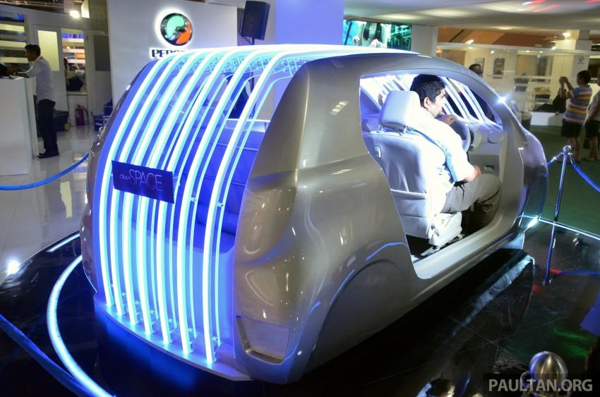 Perodua GMA Space previews new Viva interior Image #209852