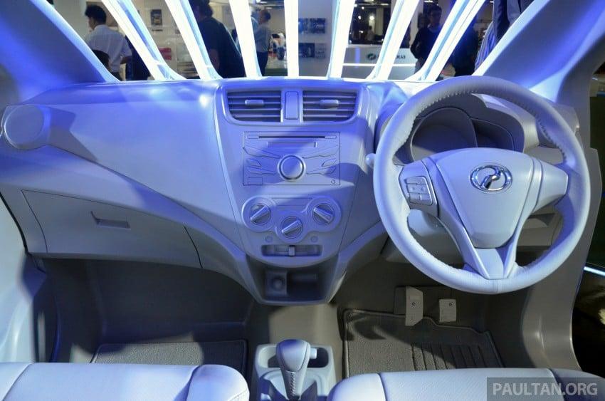 Perodua GMA Space previews new Viva interior Image #209855