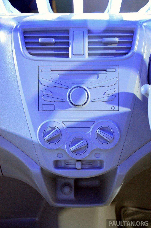 Perodua GMA Space previews new Viva interior Image #209856
