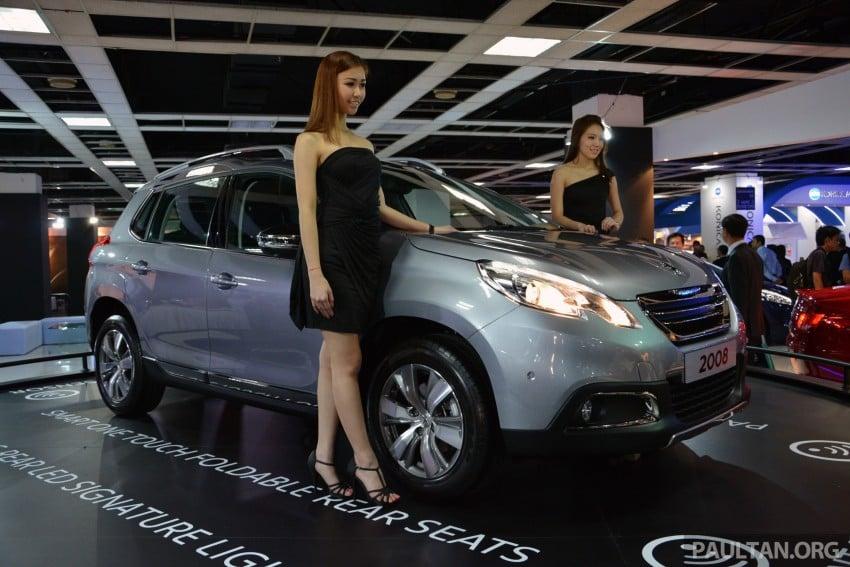 Peugeot 2008 previewed at KLIMS13, Jan 2014 launch Image #209698