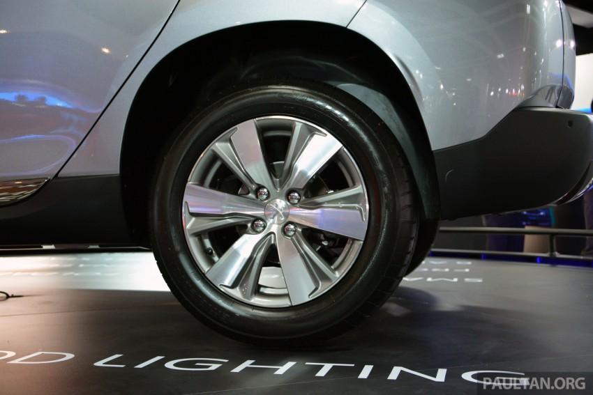 Peugeot 2008 previewed at KLIMS13, Jan 2014 launch Image #209703