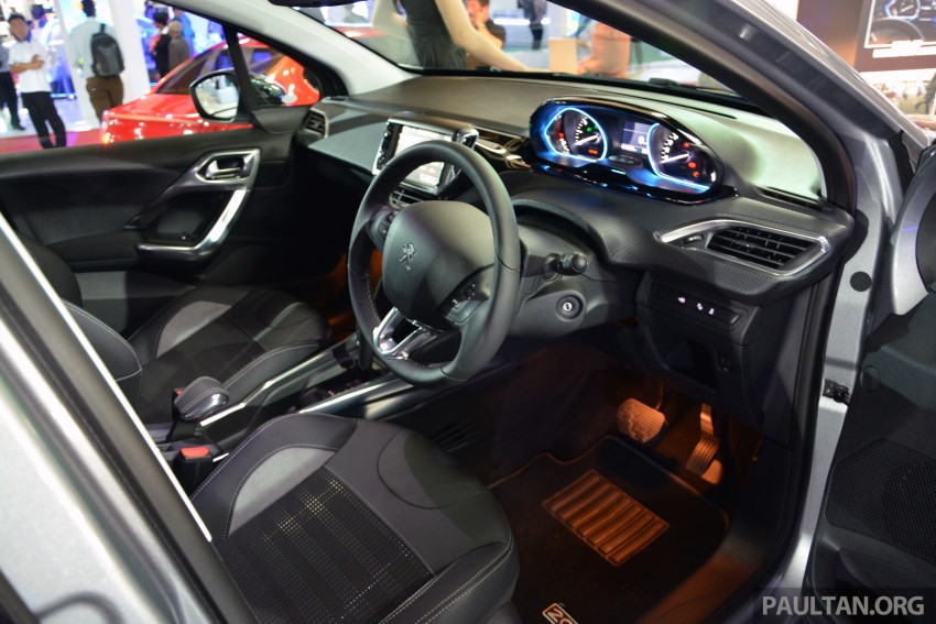 Peugeot 2008 previewed at KLIMS13, Jan 2014 launch Image #209711