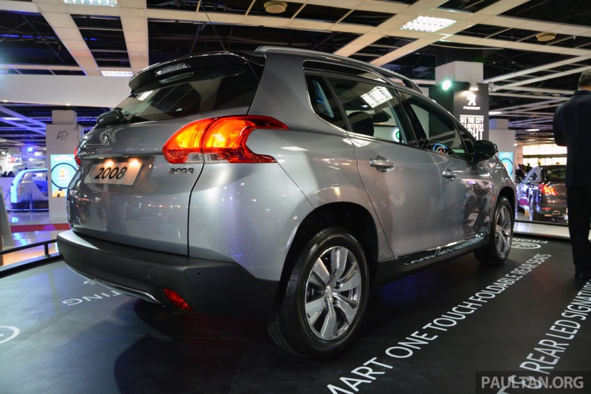 Peugeot 2008 previewed at KLIMS13, Jan 2014 launch Image #209713