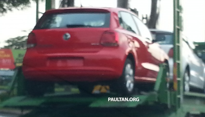 New variant of Volkswagen Polo sighted on trailer Image #208433