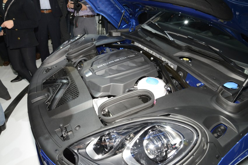 Porsche Macan SUV unveiled in LA with up to 400 hp Image #212491