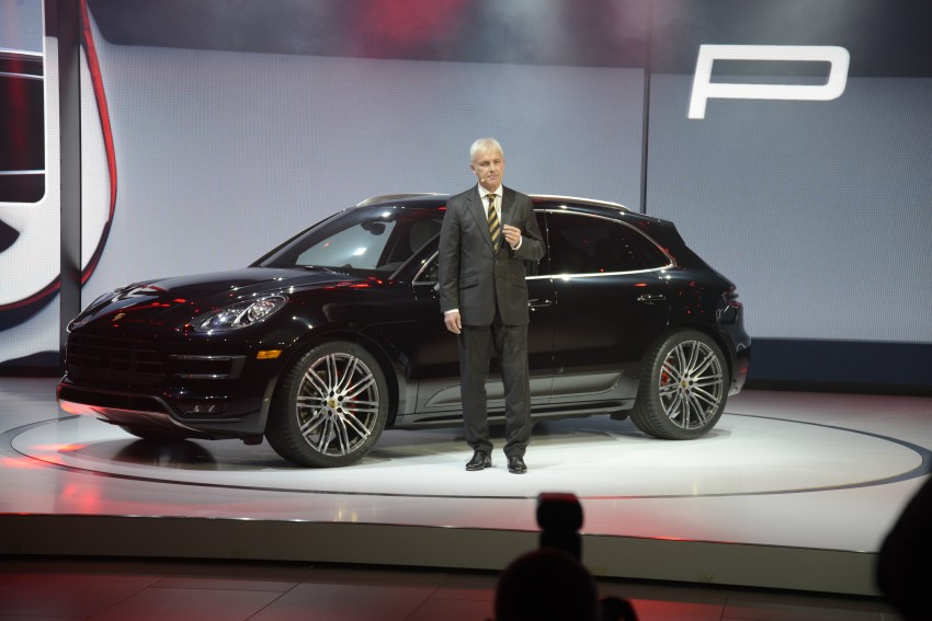 Porsche Macan SUV unveiled in LA with up to 400 hp Image #212495