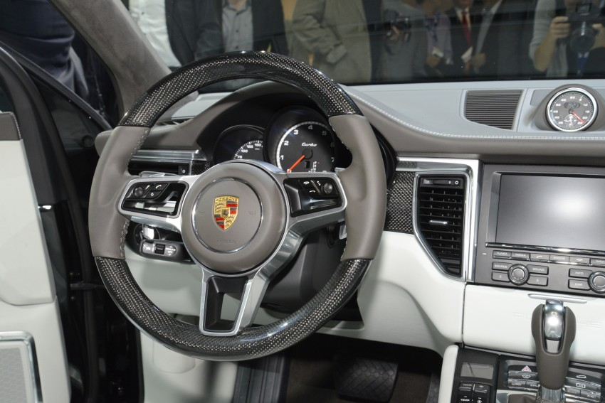 Porsche Macan SUV unveiled in LA with up to 400 hp Image #212497