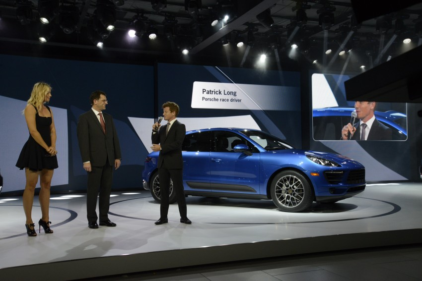 Porsche Macan SUV unveiled in LA with up to 400 hp Image #212498