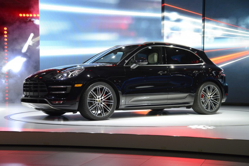 Porsche Macan SUV unveiled in LA with up to 400 hp Image #212499