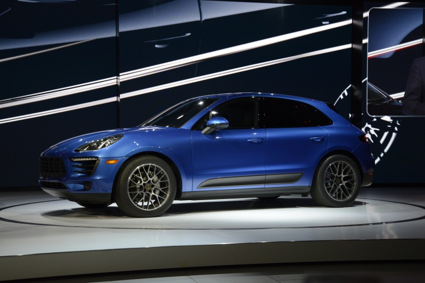 Porsche Macan SUV unveiled in LA with up to 400 hp Image #212500