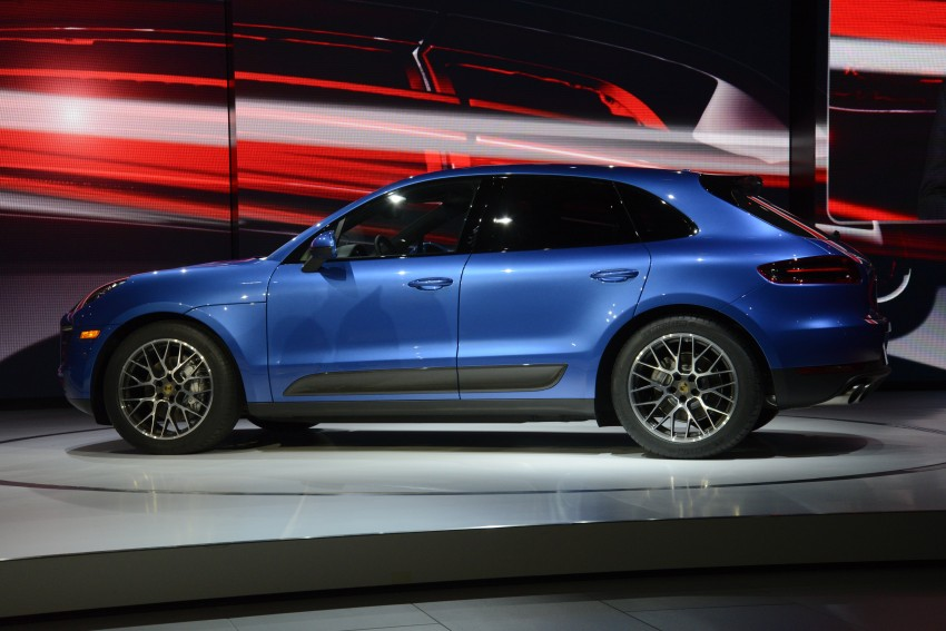Porsche Macan SUV unveiled in LA with up to 400 hp Image #212501