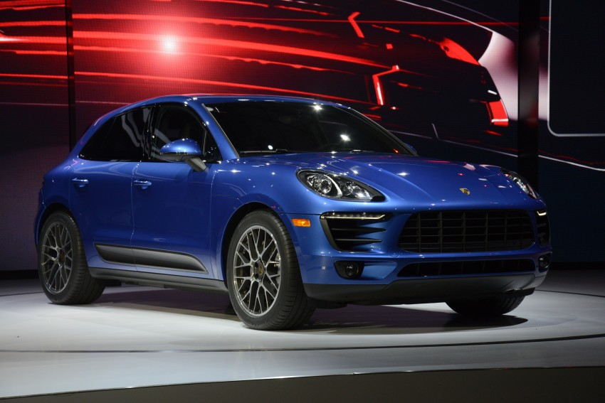Porsche Macan SUV unveiled in LA with up to 400 hp Image #212503