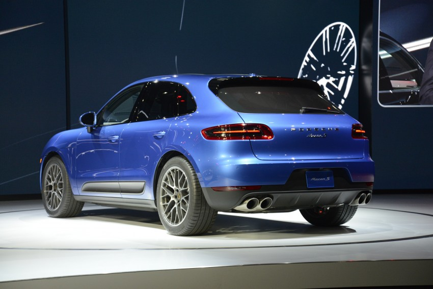 Porsche Macan SUV unveiled in LA with up to 400 hp Image #212504
