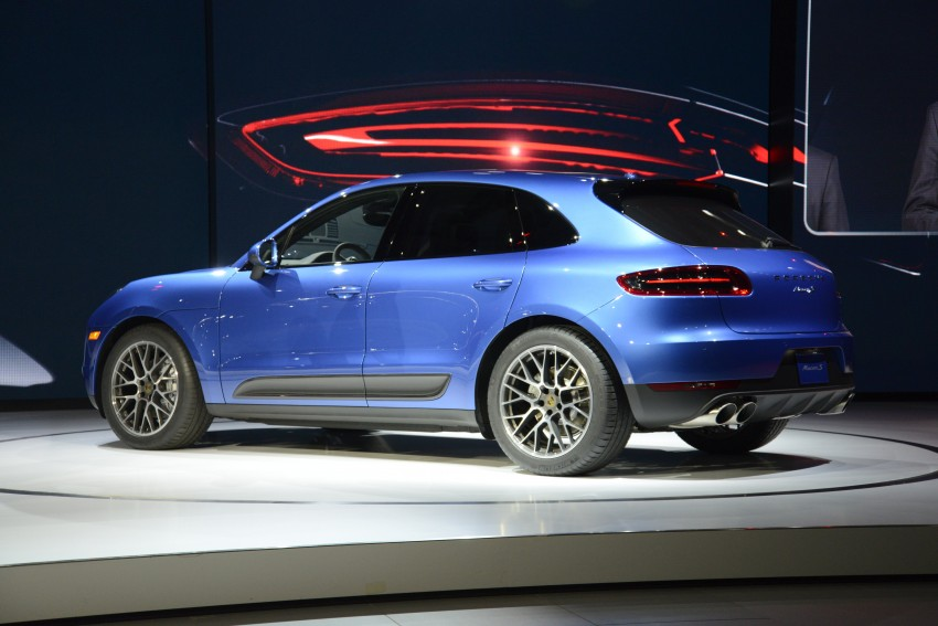 Porsche Macan SUV unveiled in LA with up to 400 hp Image #212505