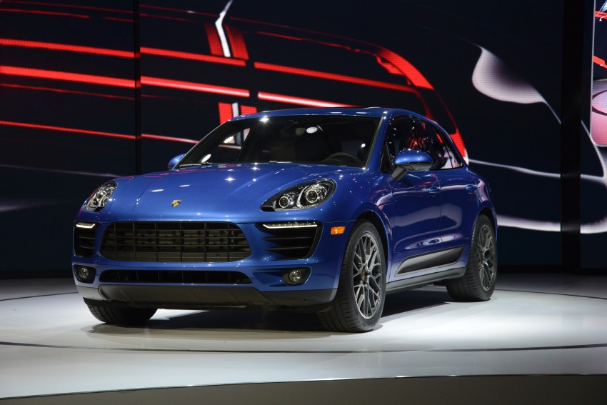 Porsche Macan SUV unveiled in LA with up to 400 hp Image #212506