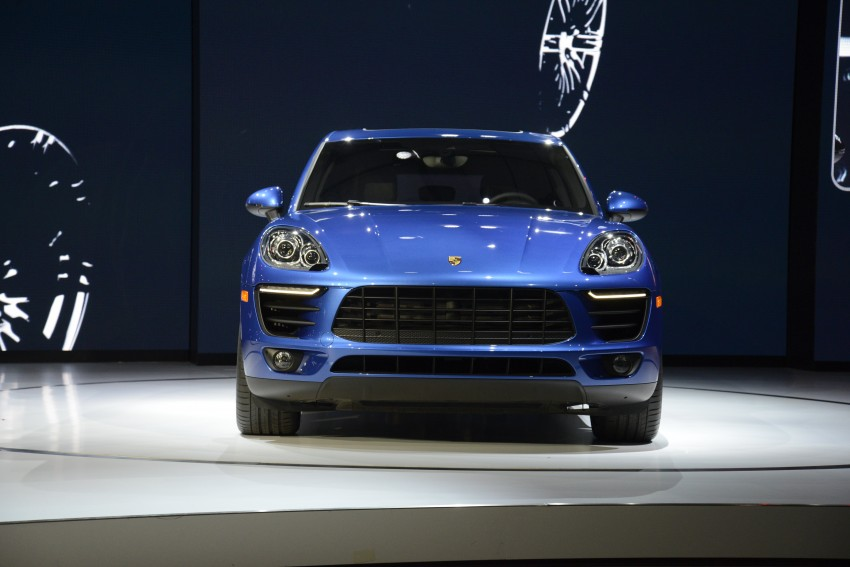 Porsche Macan SUV unveiled in LA with up to 400 hp Image #212507
