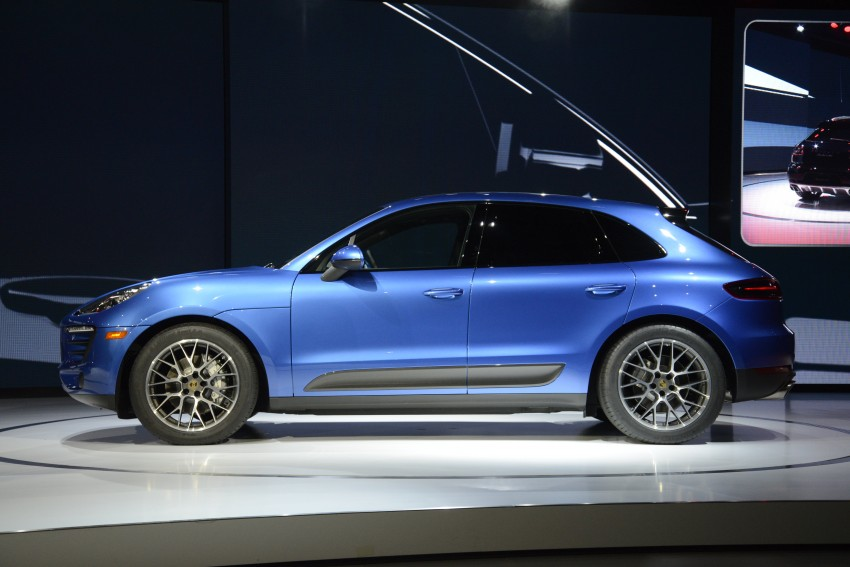 Porsche Macan SUV unveiled in LA with up to 400 hp Image #212508