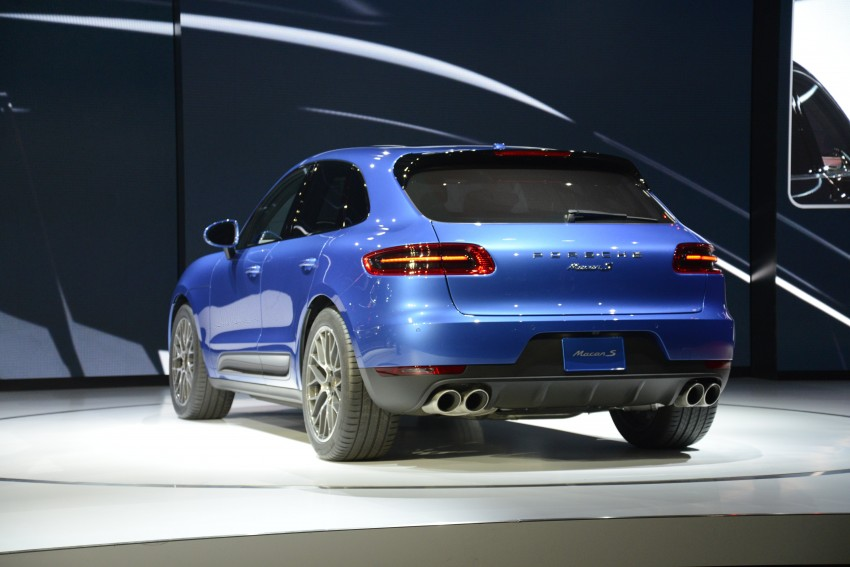 Porsche Macan SUV unveiled in LA with up to 400 hp Image #212509