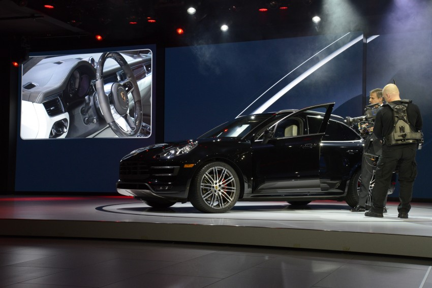Porsche Macan SUV unveiled in LA with up to 400 hp Image #212511