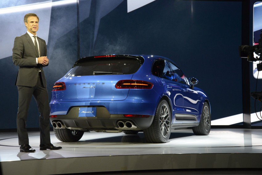 Porsche Macan SUV unveiled in LA with up to 400 hp Image #212512