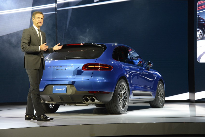Porsche Macan SUV unveiled in LA with up to 400 hp Image #212513