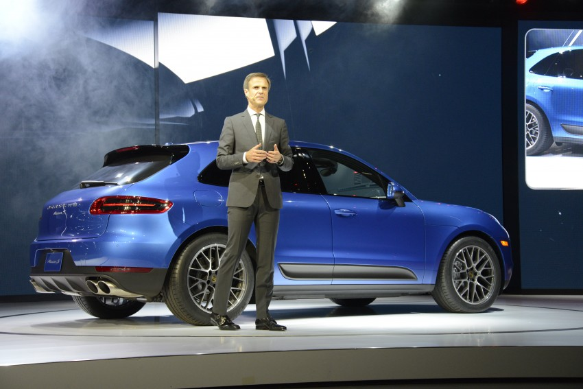 Porsche Macan SUV unveiled in LA with up to 400 hp Image #212514