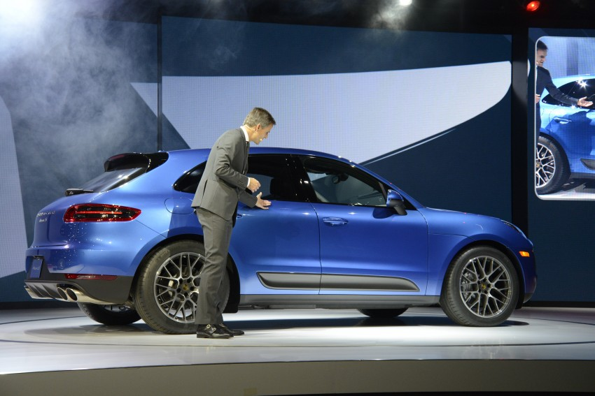 Porsche Macan SUV unveiled in LA with up to 400 hp Image #212515