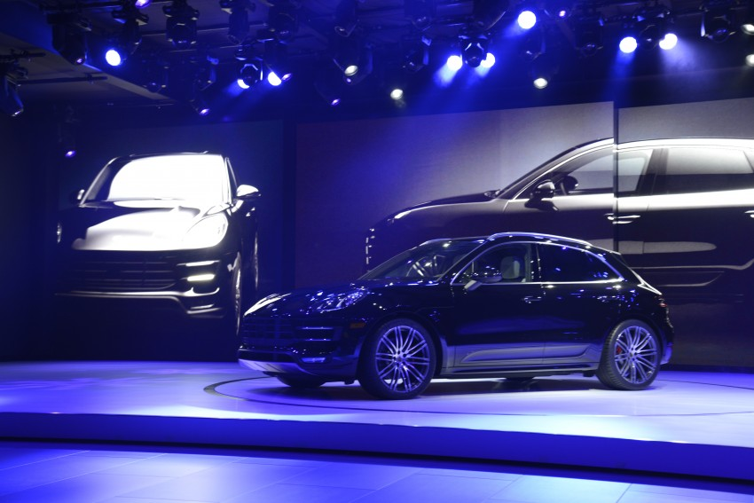 Porsche Macan SUV unveiled in LA with up to 400 hp Image #212516