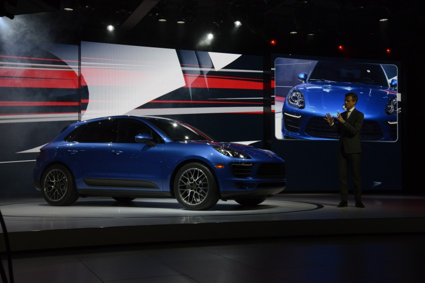 Porsche Macan SUV unveiled in LA with up to 400 hp Image #212517