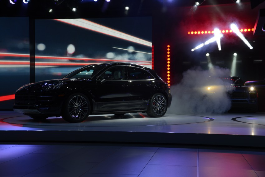 Porsche Macan SUV unveiled in LA with up to 400 hp Image #212519