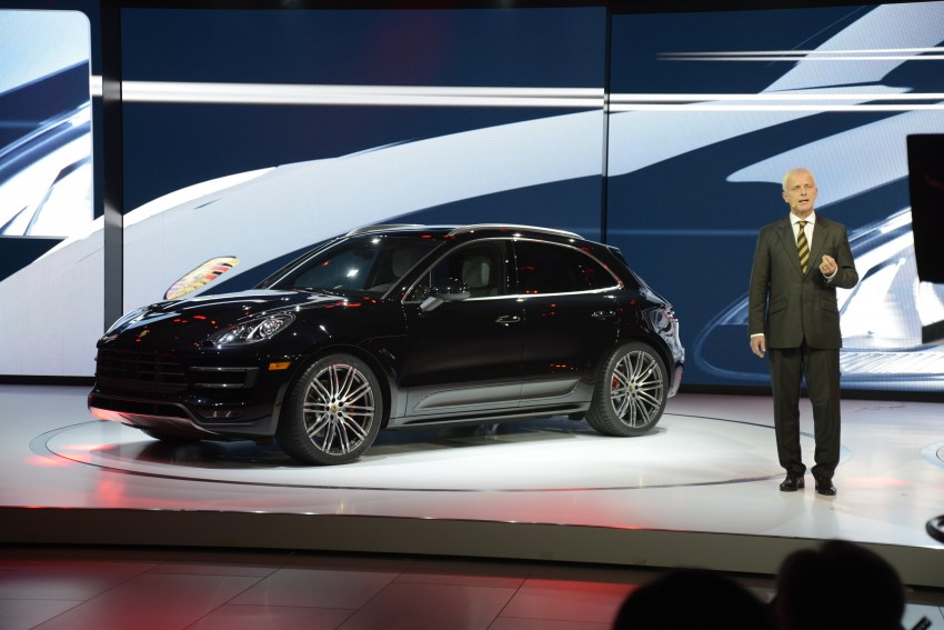 Porsche Macan SUV unveiled in LA with up to 400 hp Image #212521