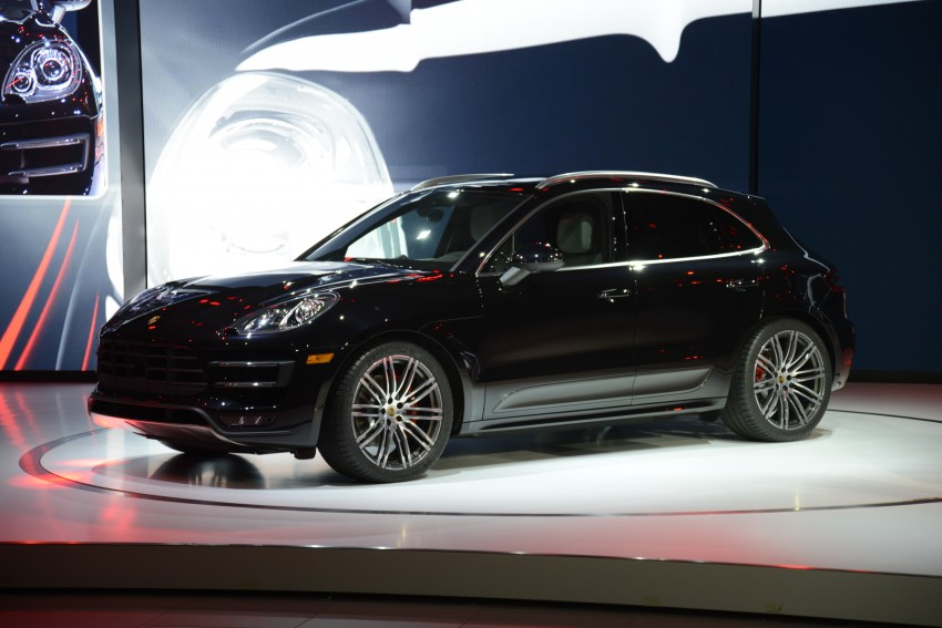 Porsche Macan SUV unveiled in LA with up to 400 hp Image #212522