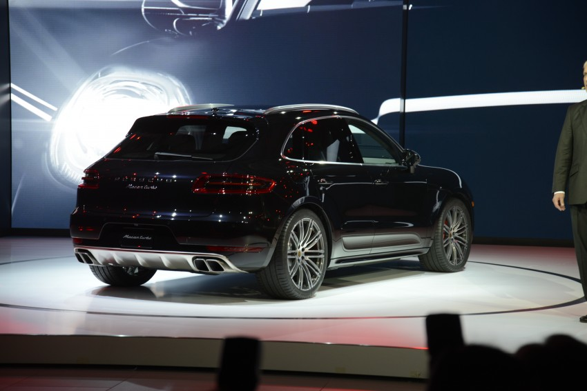 Porsche Macan SUV unveiled in LA with up to 400 hp Image #212523